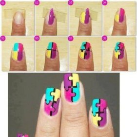 nail art designs step by step 26