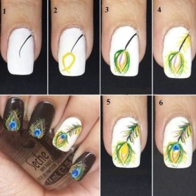 nail art designs step by step 31