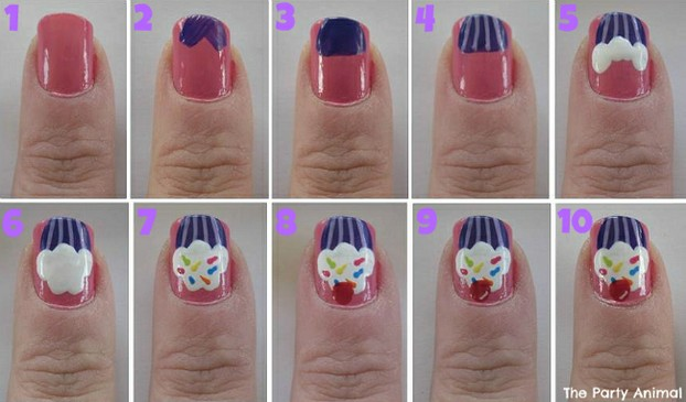 20 Awesome Nail Art Designs Explained Step By Step Indian Makeup