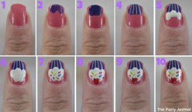 nail art designs step by step 38