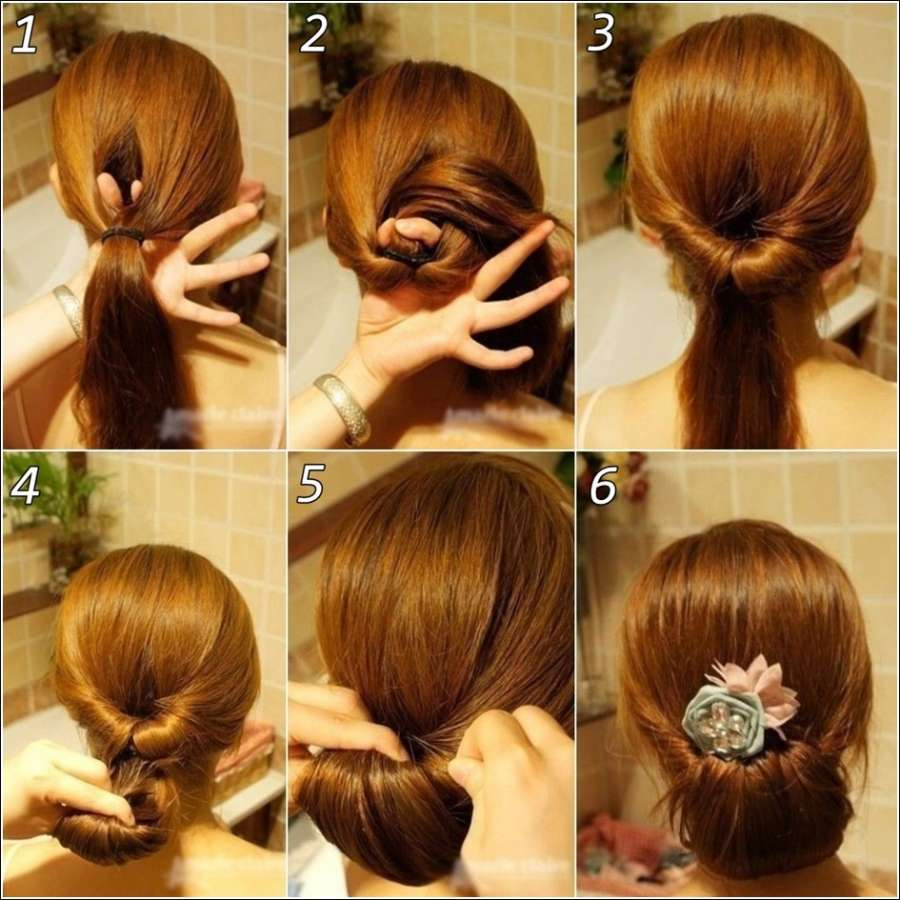 5 interesting bun hairstyles for karwachauth simplified step
