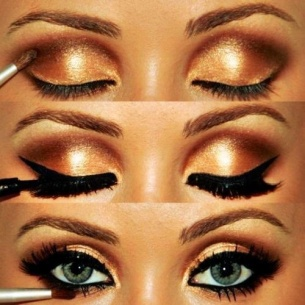 Karwachauth eye makeup 01