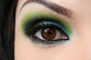 Karwachauth eye makeup 02