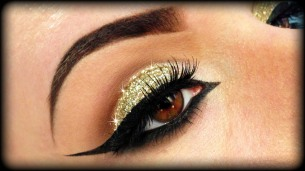 Karwachauth eye makeup 04