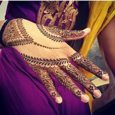 Mehndi design for hands 01