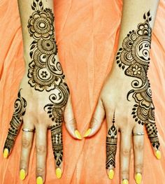Mehndi design for hands 03