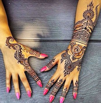 Mehndi design for hands 05