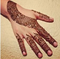 Mehndi design for hands 06