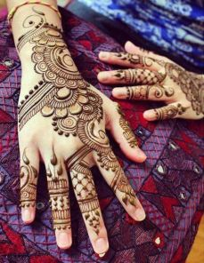 Mehndi design for hands 07