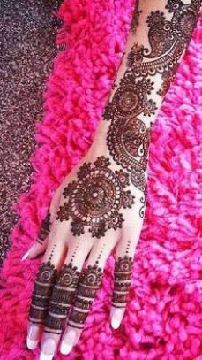 Mehndi design for hands 08