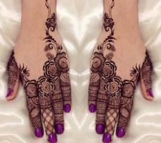 Mehndi design for hands 09