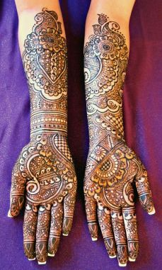 Mehndi design for hands 10
