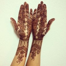 Mehndi design for hands 13