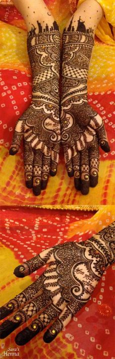 Mehndi design for hands 15