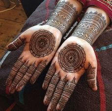 Mehndi design for hands 16