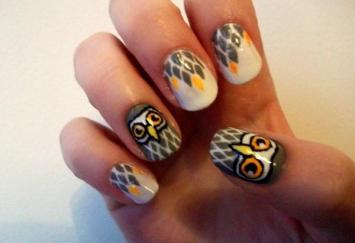 Nail Art Designs For Short Nails 20