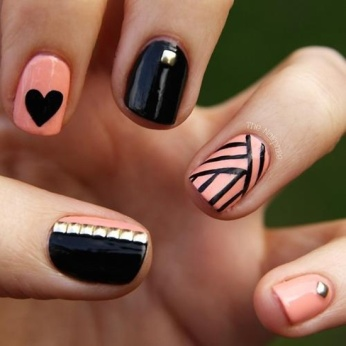 Nail Art Designs For Short Nails 21