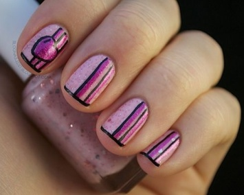Nail Art Designs For Short Nails 23