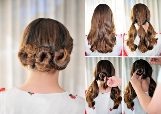 5 Minute Hairstyles For Short Hair: Top 5 DIY 5 Minute Hairstyles For Long Hair