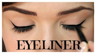 How to apply liquid eyeliner 01