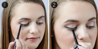 How to apply liquid eyeliner 04