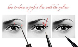 How to apply liquid eyeliner 05