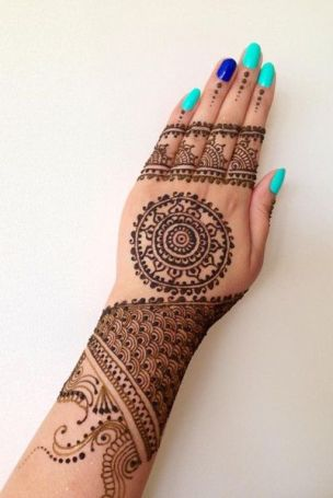 Mehndi designs for Diwali 01