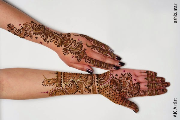 Mehndi designs for Diwali 05