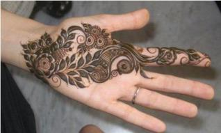 Pretty mehndi designs 01