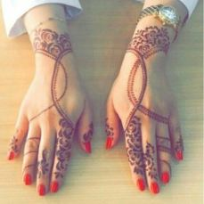 Pretty mehndi designs 06