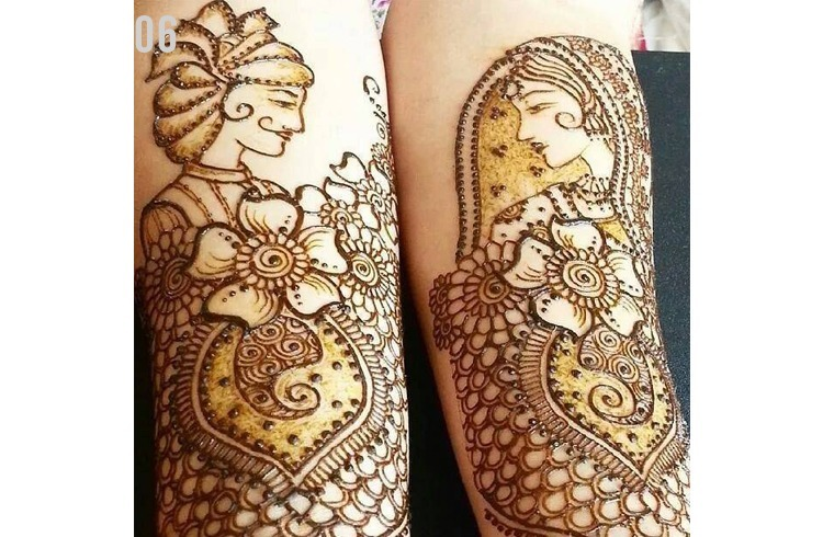 Mehndi Designs For Dulha : Mind blowing dulhan mehndi designs for hands and feet indian