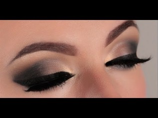 How to do smokey eyes 01