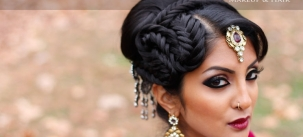 Indian bridal hairstyles 110