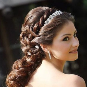 Indian bridal hairstyles 115