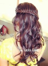 Indian bridal hairstyles 117