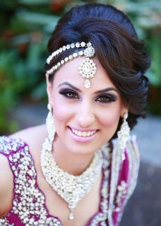 Indian bridal hairstyles 120