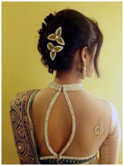 Indian bridal hairstyles 122