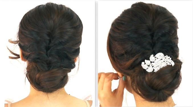 24 gorgeous indian bridal hairstyles for a reception party