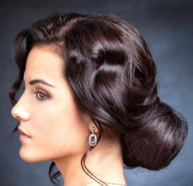 Indian bridal hairstyles 124