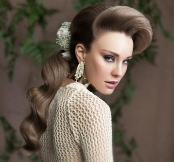 Indian bridal hairstyles 127