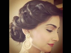 Indian bridal hairstyles 131