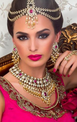 Indian bridal look 01