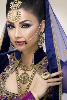 Indian bridal look 07