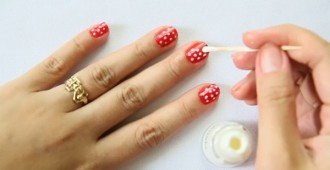 18 Cute Nail Art Designs Using Toothpick Indian Makeup And Beauty