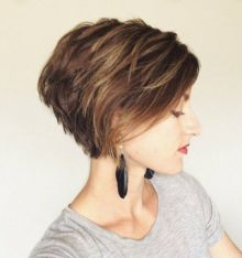 New hairstyles for short hair 01