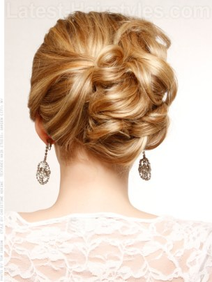 Wedding updo hairstyles 04