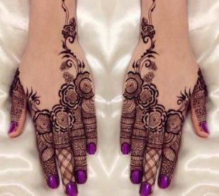 Arabic mehndi designs 54