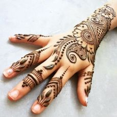 Arabic mehndi designs 58