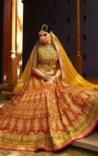Best bridal lehengas 19