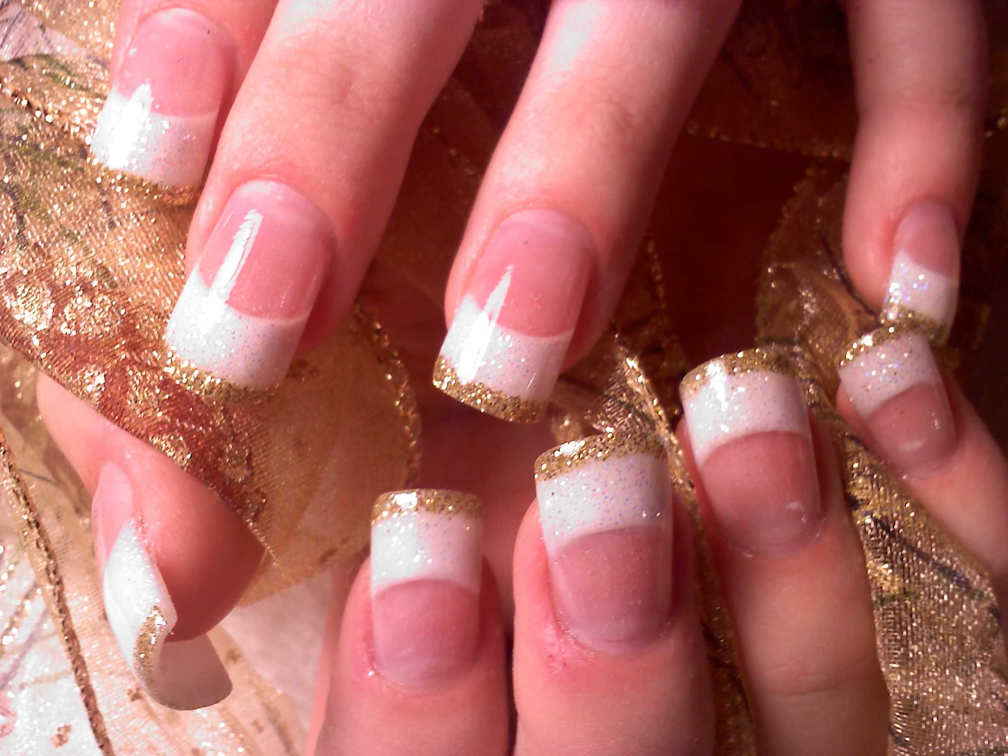 French Nail Art 13 Indian Makeup And Beauty Blog Beauty Tips